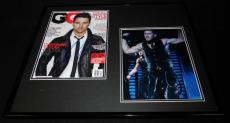Channing Tatum Signed Framed 16x20 GQ Cover & Photo Display Magic Mike