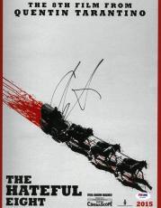 Channing Tatum Signed Hateful Eight Autographed 11x14 Photo PSA/DNA #Z37966