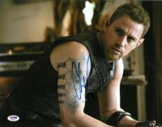 Channing Tatum Signed Jupiter Ascending Autographed 11x14 Photo PSA/DNA #AC45451