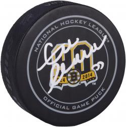 Zdeno Chara Boston Bruins Autographed 90th Anniversary Hockey Puck