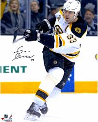 "Zdeno Chara Boston Bruins Autographed 16"" x 20"" Vertical White Uniform Photograph"