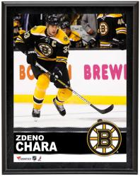"Zdeno Chara Boston Bruins Sublimated 10"" x 13"" Plaque - Mounted Memories"