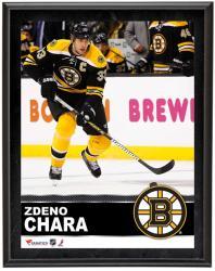 """Zdeno Chara Boston Bruins Sublimated 10"""" x 13"""" Plaque"""
