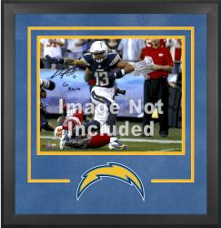 San Diego Chargers Deluxe 16'' x 20'' Horizontal Photograph Frame with Team Logo - Mounted Memories