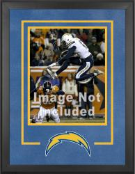 San Diego Chargers Deluxe 16'' x 20'' Vertical Photograph Frame with Team Logo - Mounted Memories