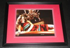 Charlene Amoia Signed Framed 8x10 Photo AW Glee How I Met Your Mother