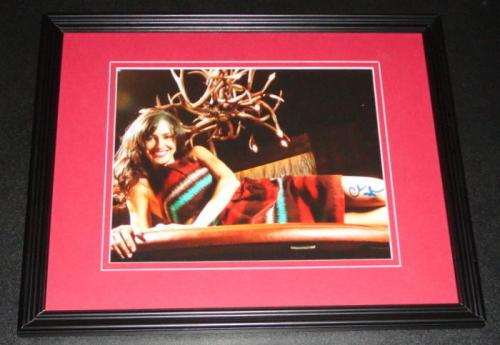 Charlene Amoia Signed Framed 8x10 Photo AW How I Met Your Mother