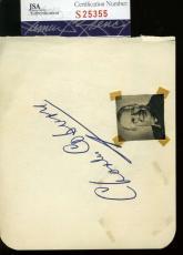 Charles Coburn Ann Miller Hand Signed Jsa Album Page Authentic Autograph