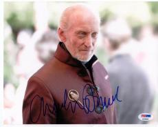 Charles Dance Tywin Lannister signed 8x10 photo PSA/DNA Game of Thrones