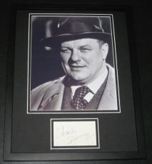 Charles Durning Signed Framed 11x14 Photo Display The Sting