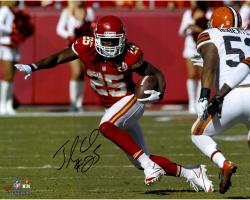 "Jamaal Charles Kansas City Chiefs Autographed 16"" x 20"" Horizontal vs. Cleveland Browns Photograph"