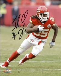 "Jamaal Charles Kansas City Chiefs Autographed 8"" x 10"" Vertical Photograph"