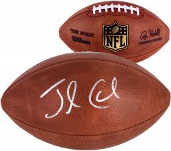 Jamaal Charles Kansas City Chiefs Autographed Duke Pro Football - Mounted Memories