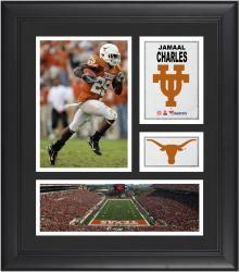"Jamaal Charles Texas Longhorns Framed 15"" x 17"" Collage"