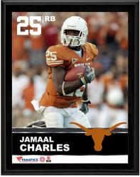 """Jamaal Charles Texas Longhorns Sublimated 10.5"""" x 13"""" Plaque"""
