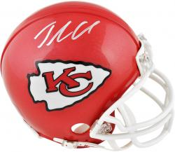 Jamaal Charles Kansas City Chiefs Autographed Riddell Mini Helmet - Mounted Memories