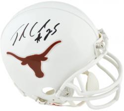 Jamaal Charles Texas Longhorns Autographed Riddell Mini Helmet