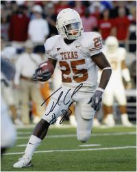 "Jamaal Charles Texas Longhorns Autographed 8"" x 10"" Running Photograph"