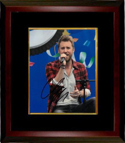 Charles Kelley signed Lady Antebellum 8x10 Photo Custom Framing - JSA HOLOGRAM