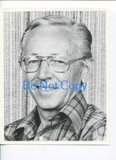 Charles M. Schulz Peanuts Snoopy Cartoonist Artist Original Press Photo