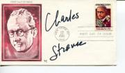 Charles Strouse Composer Lyricist Annie Signed Autograph FDC