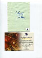 Charles Tickner US Olympic Bronze Figure Skater Signed Autograph COA