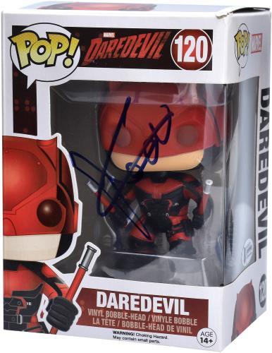 Charlie Cox Daredevil Autographed Daredevil #120 Funko Pop! - BAS