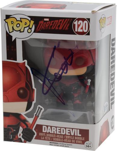 Charlie Cox Daredevil Autographed Matt Murdock #121 Funko Pop! - BAS