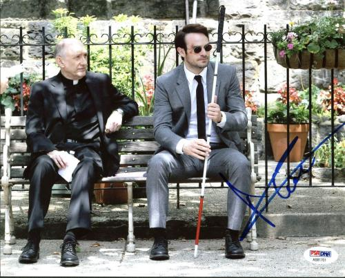 Charlie Cox Daredevil Signed 8X10 Photo Autographed PSA/DNA #AB81701