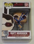Charlie Cox Signed Pop Funko Daredevil 121 Marvel Toy Figure Autograph Proof Coa