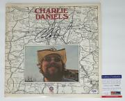 Charlie Daniels Signed Self-titled Record Album Psa Coa V84004