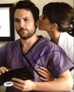 Charlie Day Horrible Bosses Signed 8X10 Photo PSA/DNA #AA83734