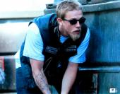 Charlie Hunnam Signed Autographed 11X14 Photo Sons of Anarchy Crouch JSA U16644