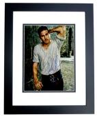 Charlie Hunnam Signed - Autographed King Arthur - Sons of Anarchy Actor 11x14 inch Photo BLACK CUSTOM FRAME - Guaranteed to pass PSA or JSA