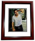 Charlie Hunnam Signed - Autographed King Arthur - Sons of Anarchy Actor 11x14 inch Photo MAHOGANY CUSTOM FRAME - Guaranteed to pass PSA or JSA