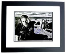Charlie Hunnam Signed - Autographed Sons of Anarchy - Jax Teller 11x14 inch Photo BLACK CUSTOM FRAME - Guaranteed to pass PSA or JSA