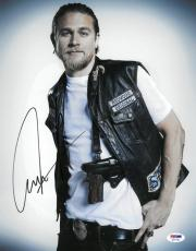 Charlie Hunnam Signed Sons of Anarchy Autographed 11x14 Photo PSA/DNA #AC11745