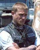 Charlie Hunnam Sons Of Anarchy Signed 11X14 Photo BAS #C57728