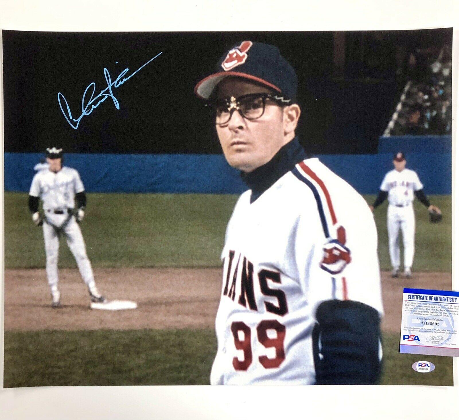sheen autograph major league signed thing