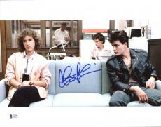 Charlie Sheen Ferris Bueller's Day Off Signed 11X14 Photo BAS Witnessed 8