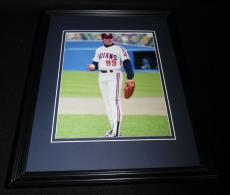 Charlie Sheen Rick Wild Thing Vaughn Major League Framed 8x10 Photo Poster