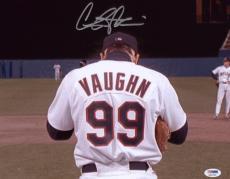 Charlie Sheen Signed 11x14 Major League Photo Autographed Psa/dna Itp 4a11746
