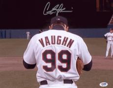 Charlie Sheen Signed 11x14 Major League Photo Autographed Psa/dna Itp 4a11747