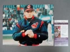 Charlie Sheen Signed 8x10 Photo Rick Vaughn JSA COA