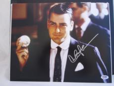 CHARLIE SHEEN SIGNED AUTO 11x14 PHOTO  PSA/DNA ITP 2 1/2 MEN WALL STREET MAJOR L
