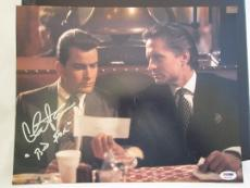 "CHARLIE SHEEN SIGNED AUTO 11x14 PHOTO  PSA/DNA ITP ""BUD FOX"" WALL STREET RARE R"