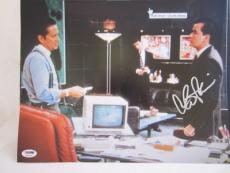 CHARLIE SHEEN SIGNED AUTO 11x14 PHOTO  PSA/DNA ITP N WALL STREET MICHAEL DOUGLAS