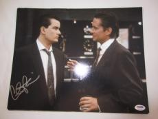 CHARLIE SHEEN SIGNED AUTO 11x14 PHOTO  PSA/DNA ITP WALLSTREET 2A