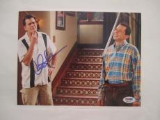 Charlie Sheen Signed Auto 8x10  Psa/dna Itp 2q 2 1/2 Men