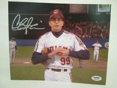 Charlie Sheen Signed Auto 8x10  Psa/dna Itp Major League  Rick Vaughn